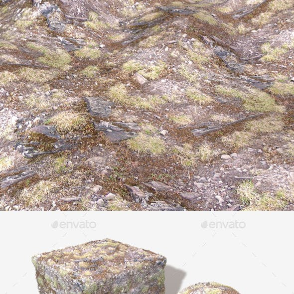 Hill Rocks 01 Seamless Texture