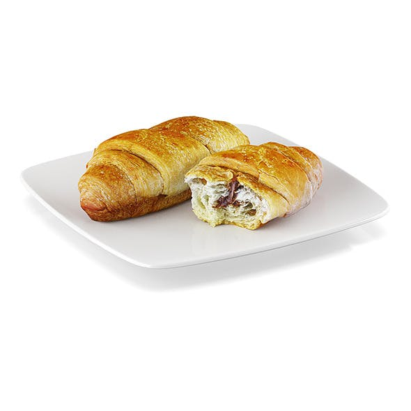 Croissant with filling