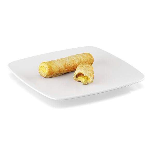 Cream horns - 3DOcean Item for Sale