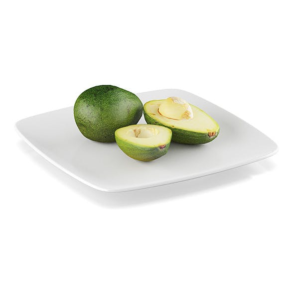 Avocado fruits - 3DOcean Item for Sale