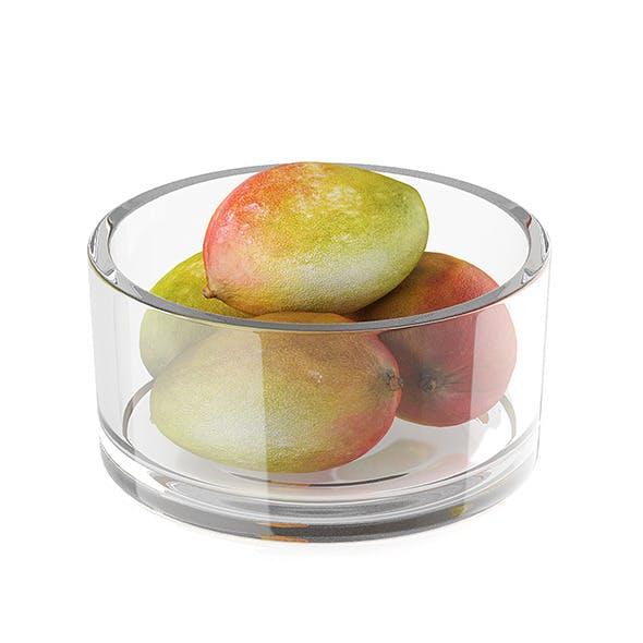 Bowl of mango fruits