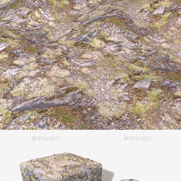 Hill Rocks 02 Seamless Texture