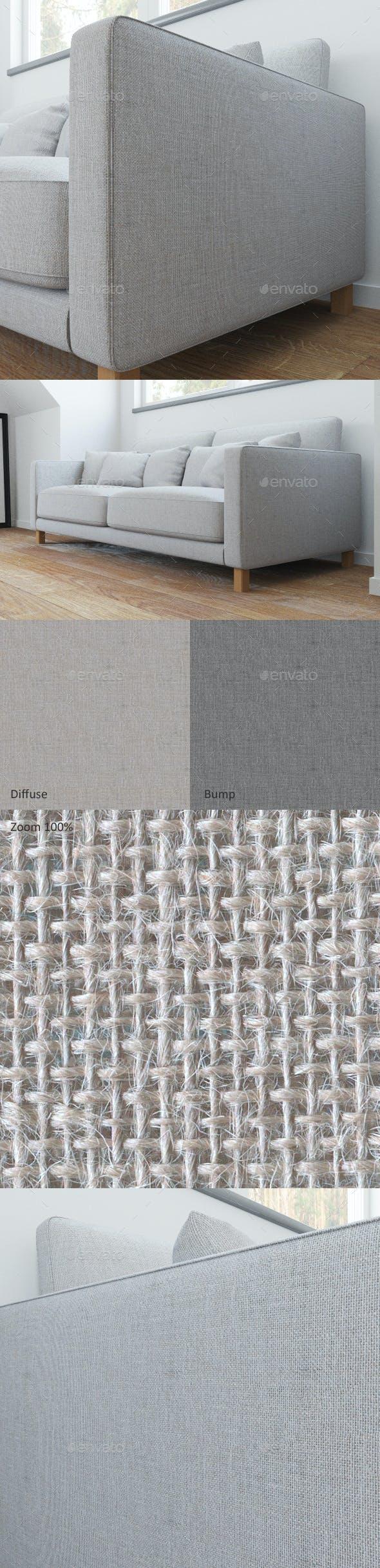 Sofa linen seamless texture - 3DOcean Item for Sale