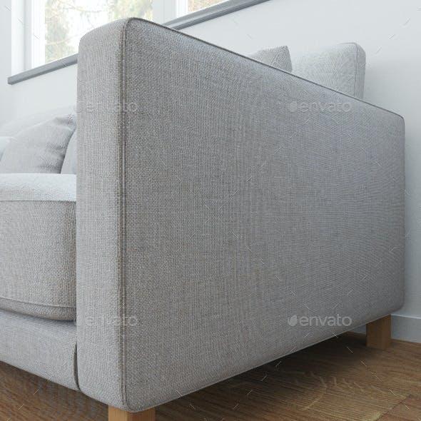 Sofa linen seamless texture