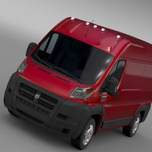 Ram Promaster Cargo 1500 HR 136WB 2015