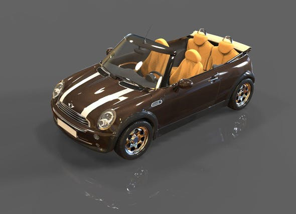 Mini Cooper  - 3DOcean Item for Sale