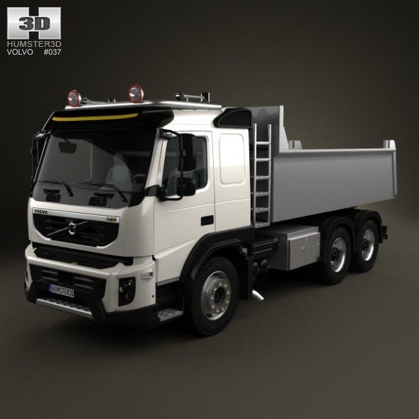 Volvo FMX Tipper Truck 2010