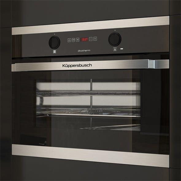 Kuppersbusch EEB6260 Compact Oven Black - 3DOcean Item for Sale