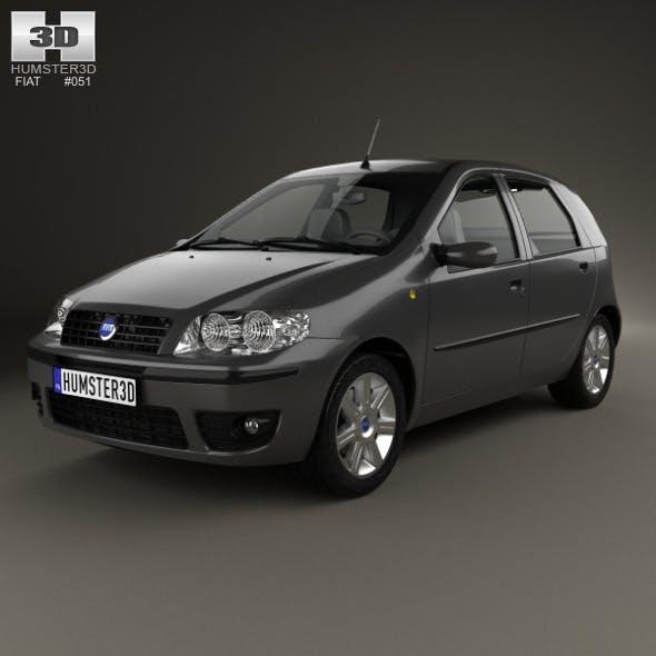 Fiat Punto 5-door 2003 - 3DOcean Item for Sale