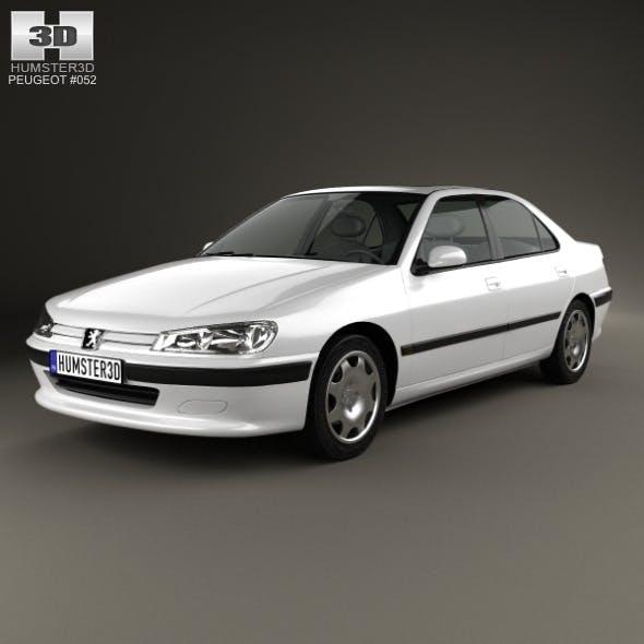 Peugeot 406 sedan 1995 - 3DOcean Item for Sale