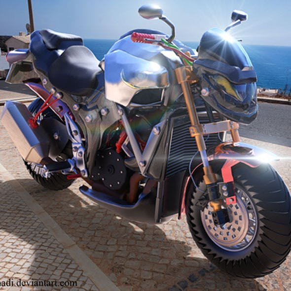 Zmotorcycle - 3DOcean Item for Sale