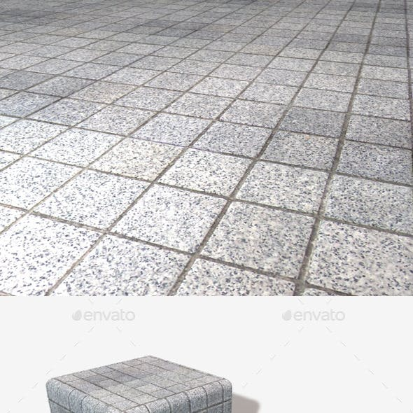 Outdoor Square Floor Tiles Seamless Texture