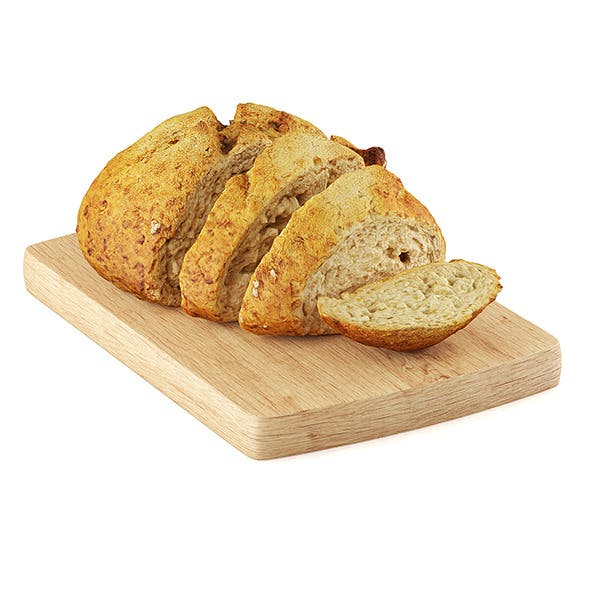 Country bread - 3DOcean Item for Sale