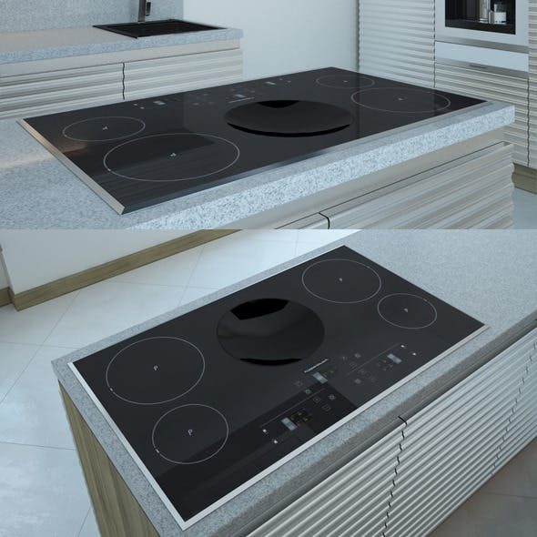 Electric Cooking Panel EKIW 9850 Kuppersbusch - 3DOcean Item for Sale