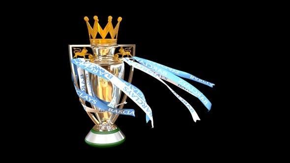 Premier League Trophy - 3DOcean Item for Sale