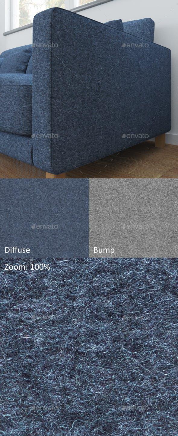 Blue seamless wool - 3DOcean Item for Sale