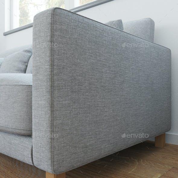 Linen naturaly seamless texture