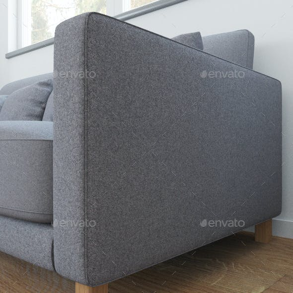 Gray wool texture