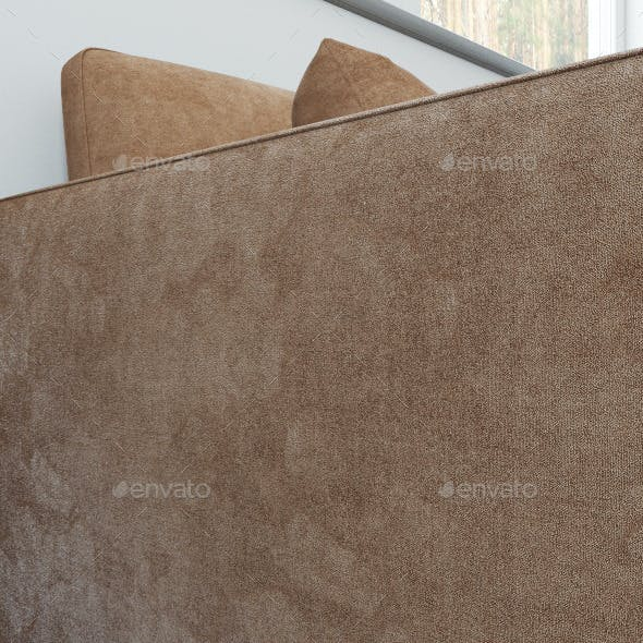 Seamless velvet texture