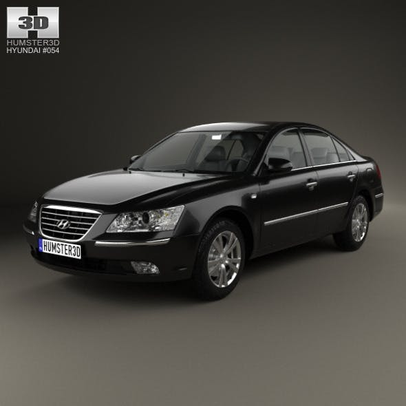 Hyundai Sonata (NF) 2008 - 3DOcean Item for Sale