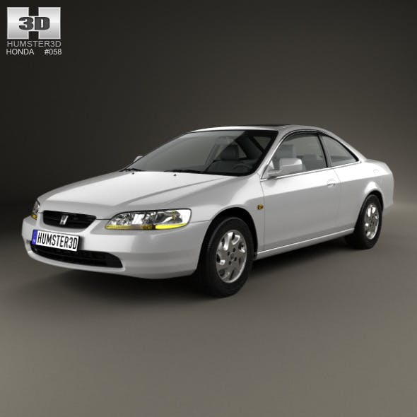 Honda Accord coupe 1998 - 3DOcean Item for Sale