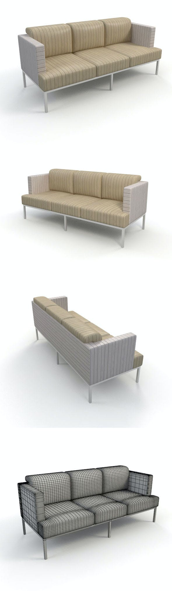 Sofa_13 - 3DOcean Item for Sale