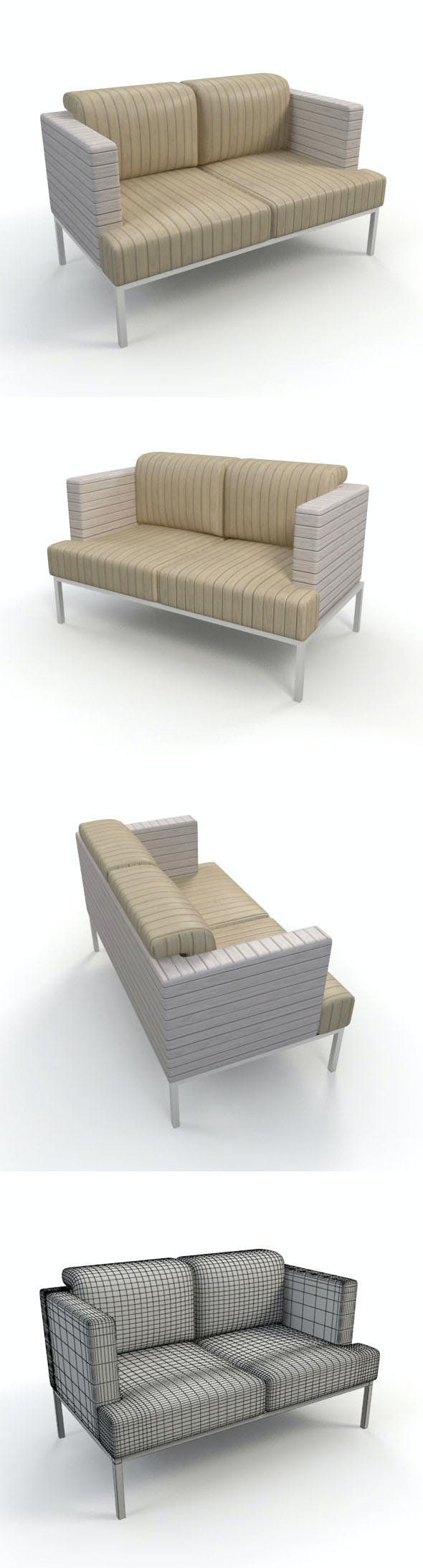 Sofa_14 - 3DOcean Item for Sale