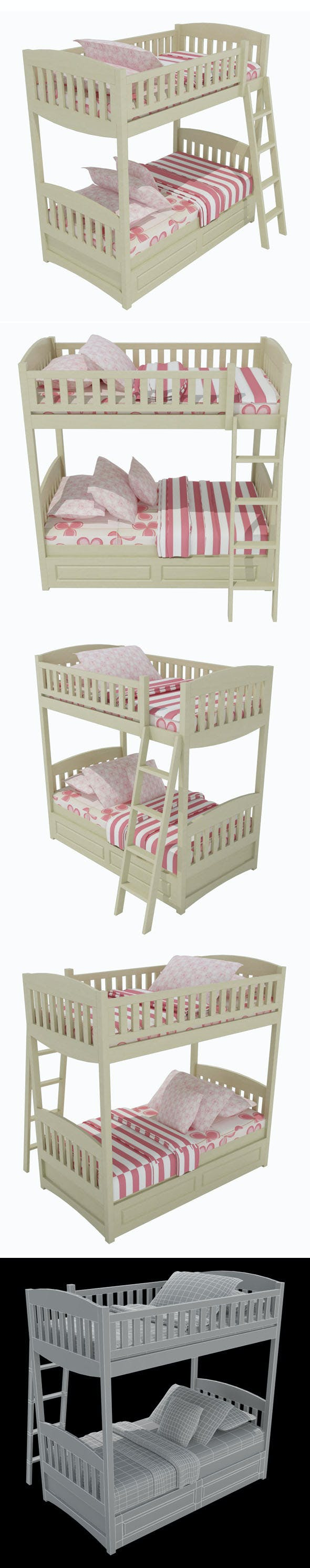 Child Bed_4 - 3DOcean Item for Sale