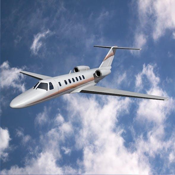 Cessna citation cj3 private jet - 3DOcean Item for Sale