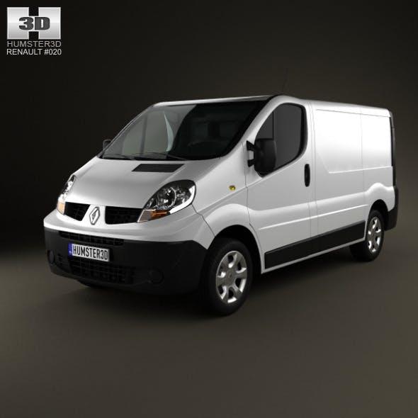 Renault Trafic PanelVan ShortWheelbase  - 3DOcean Item for Sale