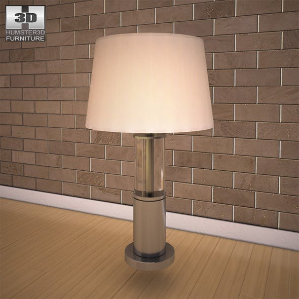 Ashley Norma Table Lamp - 3D model. - 3DOcean Item for Sale
