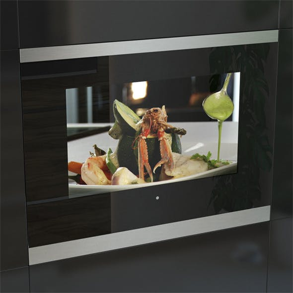 Kuppersbusch ETV6800 Kitchen LCD TV Black - 3DOcean Item for Sale
