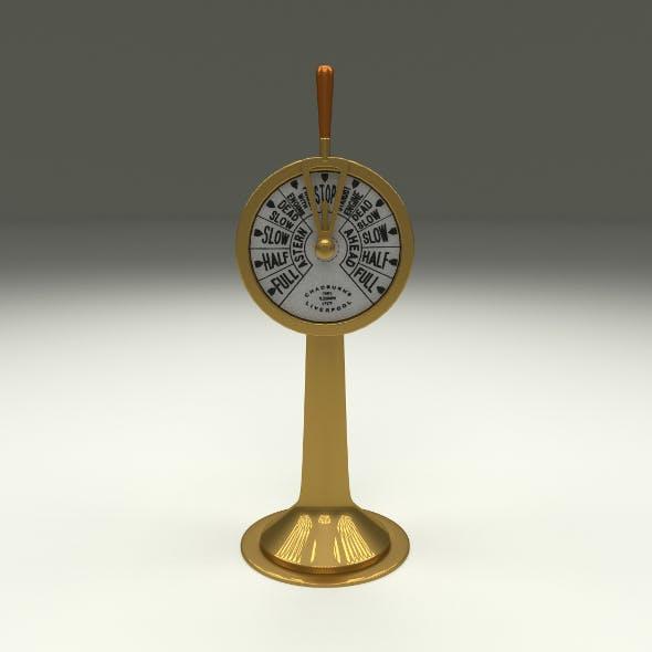 Ship Engine Telegraph - 3DOcean Item for Sale