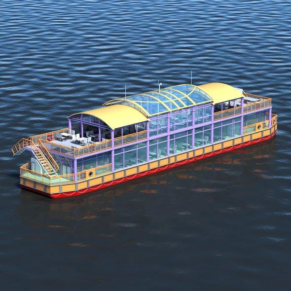 Floating Restaurant - 3DOcean Item for Sale
