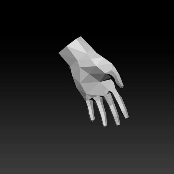 low-poly wrist