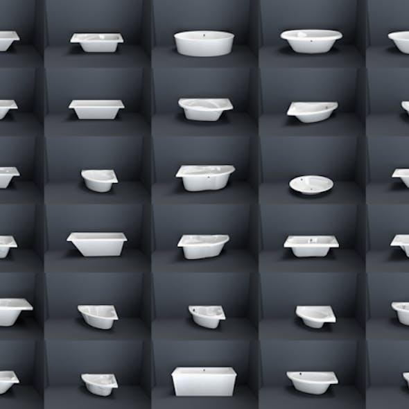 Bathroom Bathtubes collection volume 1