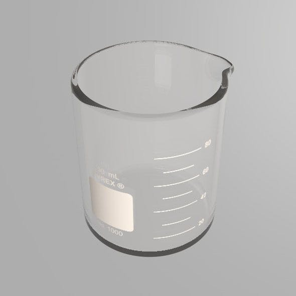 Scientific Beaker - 3DOcean Item for Sale