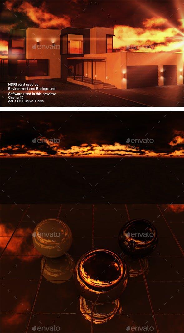 Sunset Desert 22 - 3DOcean Item for Sale