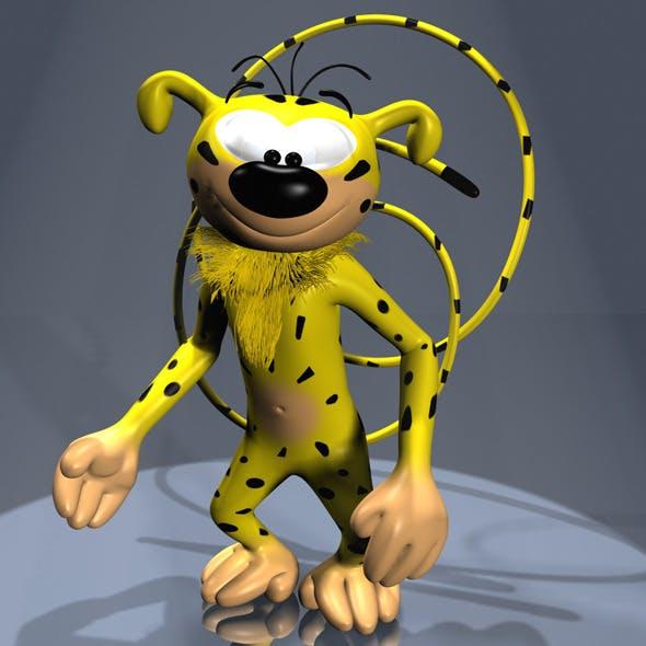 Marsupilami Character RIGGED