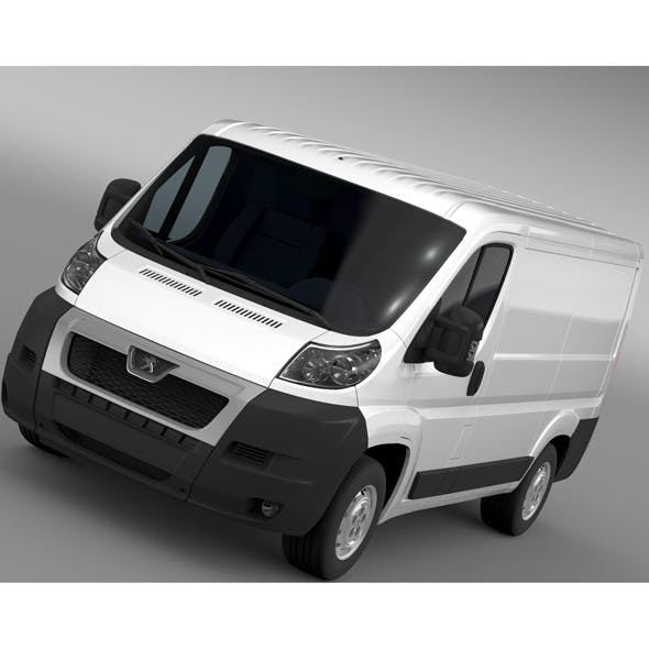Peugeot Boxer Van L1H1 2006-2014 - 3DOcean Item for Sale