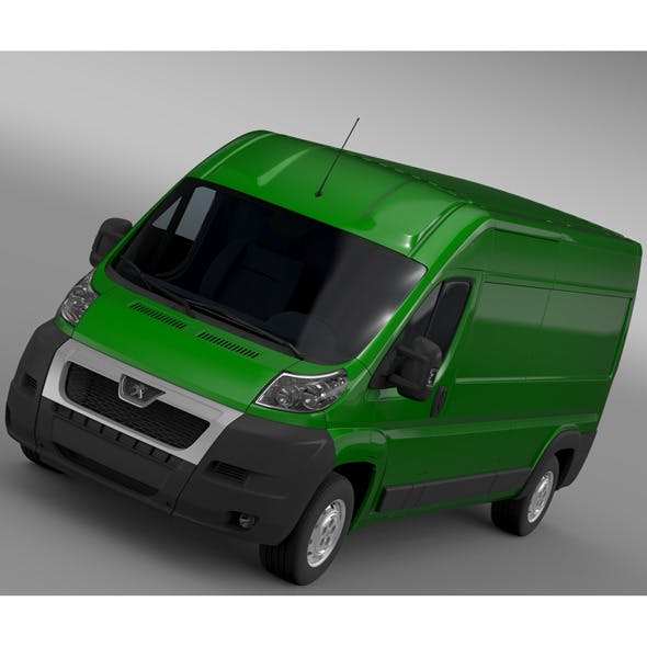 Peugeot Boxer Van L3H2 2006-2014 - 3DOcean Item for Sale