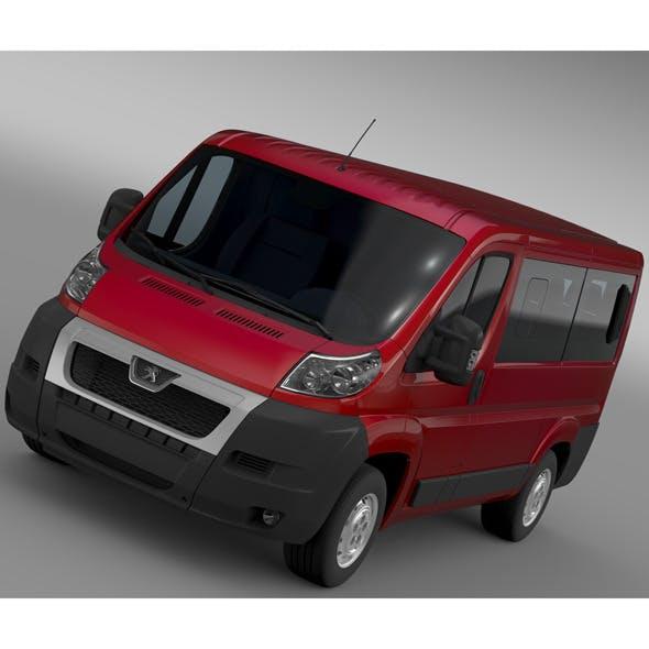 Peugeot Boxer Window Van L1H1 2006-2014