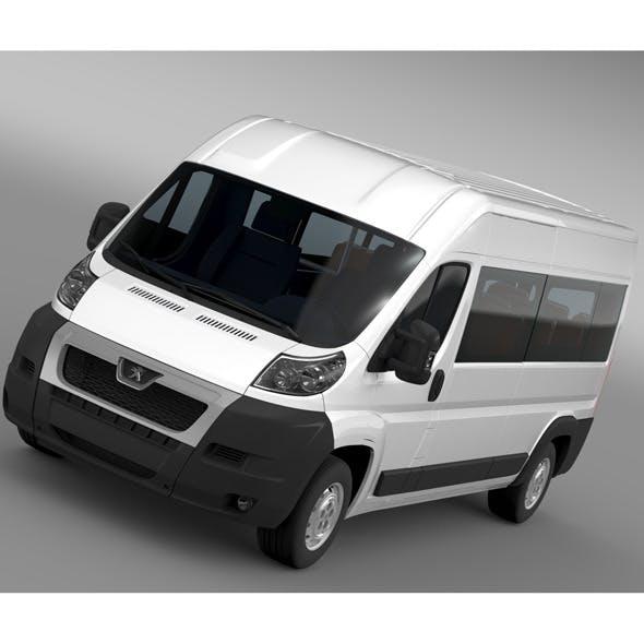 Peugeot Boxer Window Van L3H2 2006-2014