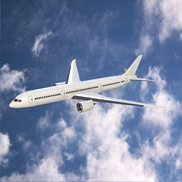Boeing 787-9 dreamliner - 3DOcean Item for Sale
