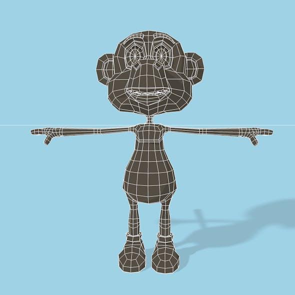 Monkey mesh - 3DOcean Item for Sale
