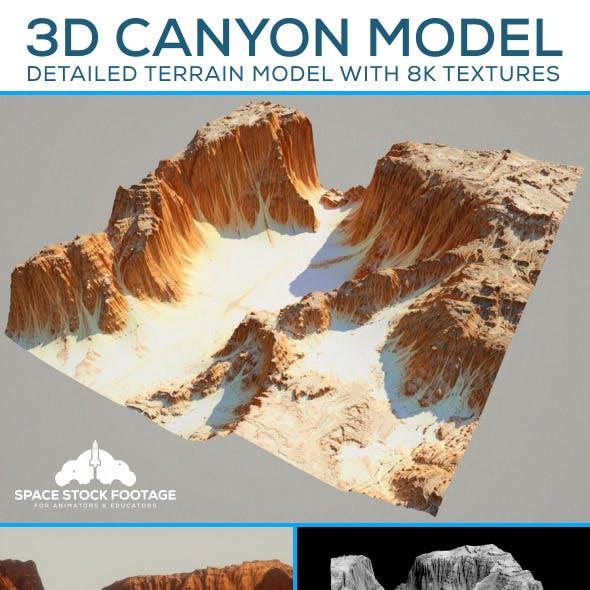 Desert Canyon Terrain