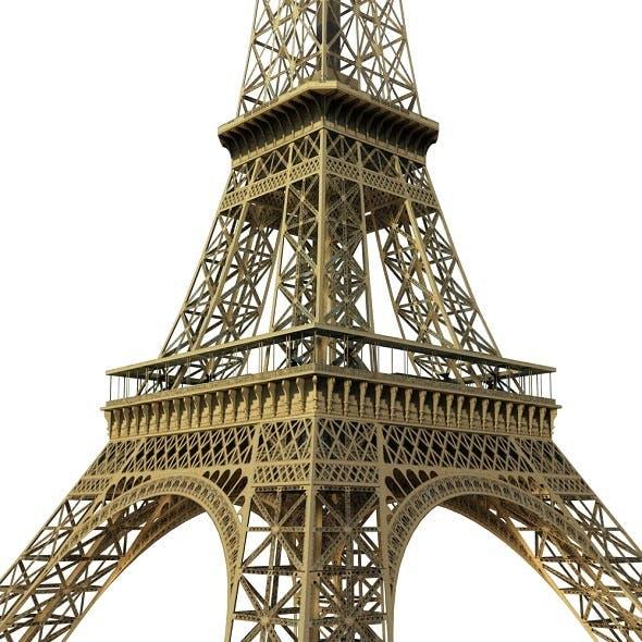 Eiffel Tower Low Poly
