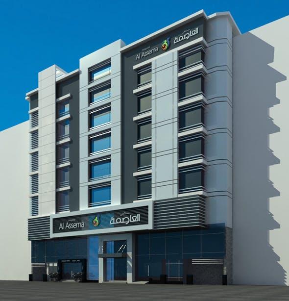 hospital building - 3DOcean Item for Sale
