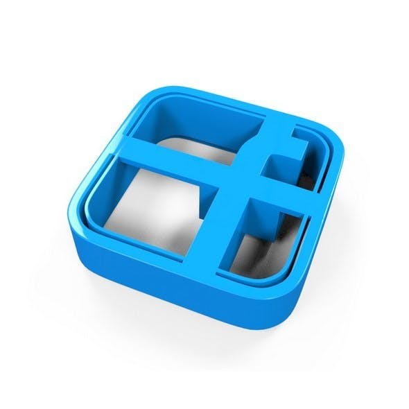 Facebook Icon Cookie Cutter - 3DOcean Item for Sale
