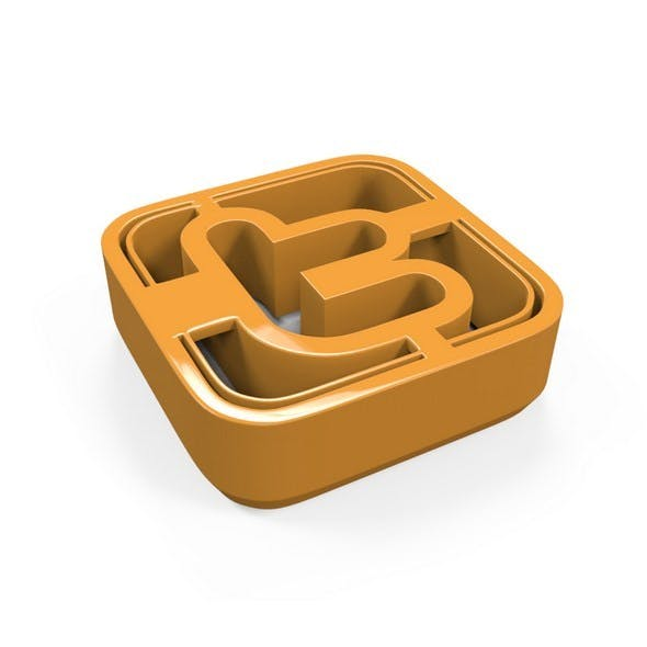 Twitter Icon Cookie Cutter